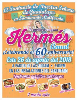 Our Lady of Guadalupe Church Festival 60th Anniversary