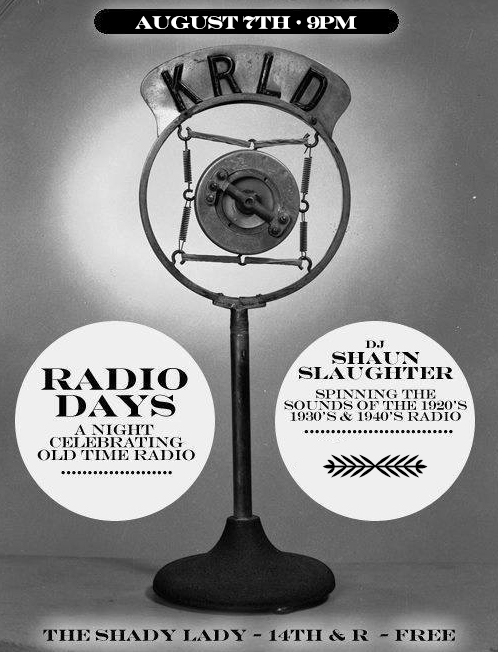 Radio Days: An Evening of '20s, '30s and '40s Music | Events