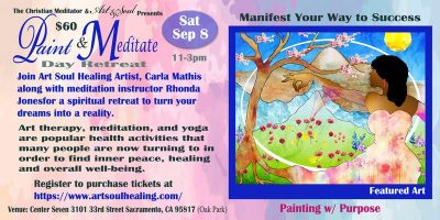 Paint and Meditate Day Retreat