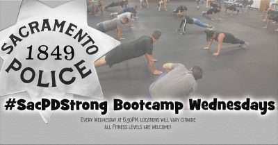 SacPDStrong Bootcamp Wednesday