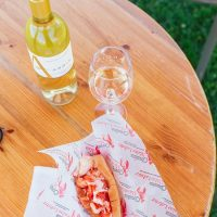 Cousin's Main Lobster Truck at Andis Wines