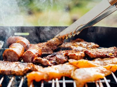 Barbeque in the Vineyard