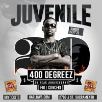 Juvenile: 400 Degreez (20 Year Anniversary Tour)
