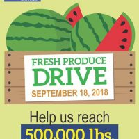 Sacramento Food Bank's Fresh Produce Drive