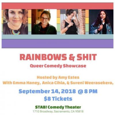Rainbows and Shit: A Queer Comedy Showcase