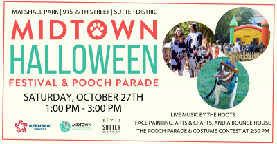 Midtown Halloween Festival and Pooch Parade