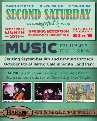 Barrio Cafe 2nd Saturday September Art Opening
