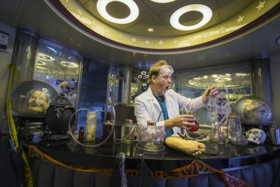 All Aboard for Story Timewith a Spirited and Fun Mad Scientist