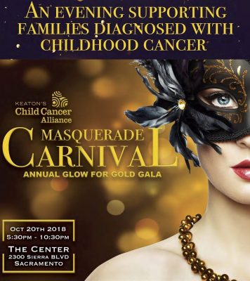 Glow for Gold Gala Masquerade Carnival
