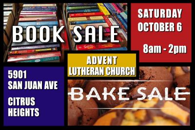 Advent Lutheran Church Book and Bake Sale