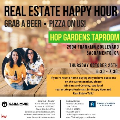 Home Buyers: Real Estate Happy Hour