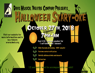 Davis Musical Theatre Company Halloween Skary-oke Party