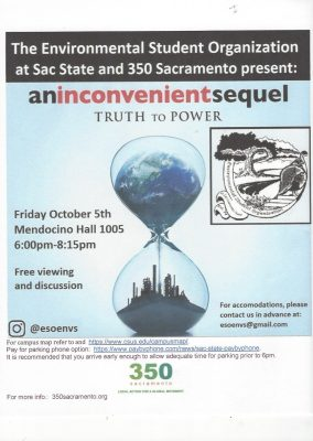 An Inconvenient Sequel: Screening and Discussion