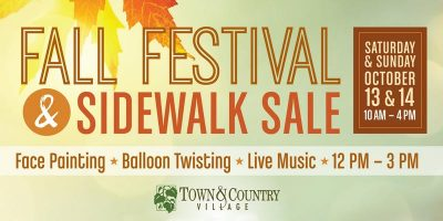 Fall Festival at Town and Country Village
