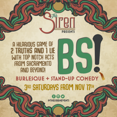 BS! Burlesque and Stand-Up Comedy