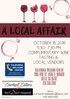 A Local Affair with Everhart Cellars and Hart 2 Hart Vineyards