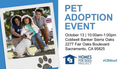 Coldwell Banker Pet Adoption Event