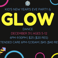 Kid's New Year's Eve Party and Glow Dance