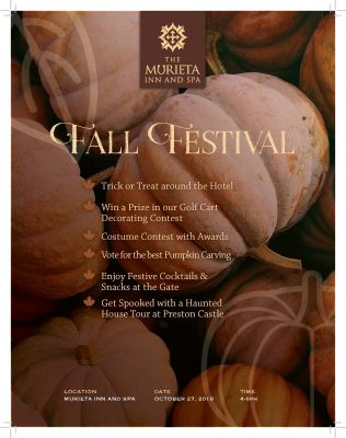 Fall Festival at The Murieta Inn and Spa