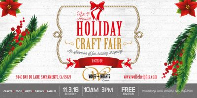 Wolfe Heights's 5th Annual Craft Fair
