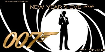 A James Bond New Year's Eve