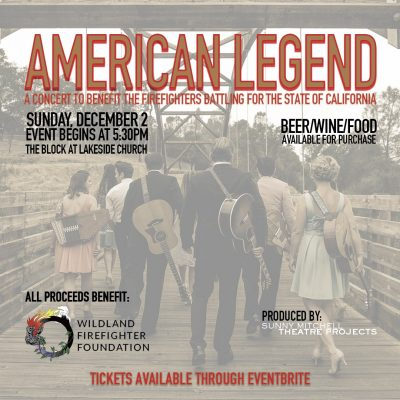 American Legend: Cal Firefighters Benefit Concert