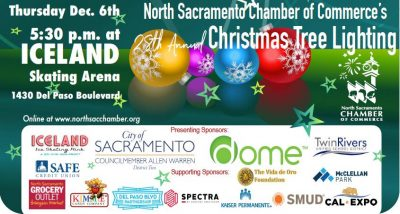 North Sacramento Chamber's Christmas Tree Lighting