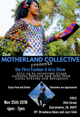 Motherland Collective Afro Fashion and Art Show