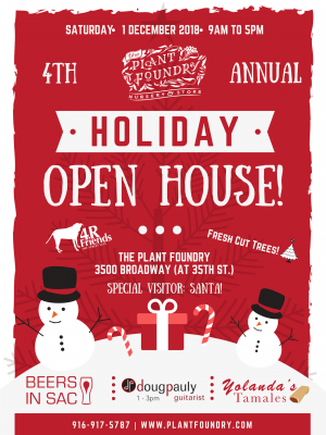 Plant Foundry Holiday Open House