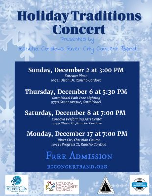 Holiday Traditions Concert (Cordova High School Performing Arts Center)