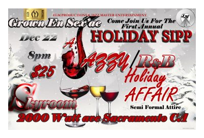 Holiday Sipp: A Jazzy and RnB Holiday Affair