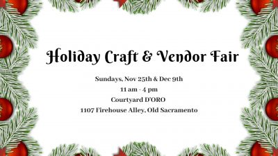 Courtyard d'Oro Holiday Craft and Vendor Fair