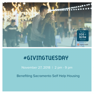 Skate it Forward for Giving Tuesday (Downtown Sacramento Ice Rink)