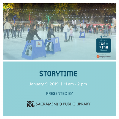 Storytime at the Downtown Sacramento Ice Rink