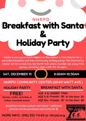 Breakfast with Santa and Community Holiday Party
