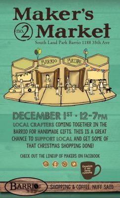 2nd Annual Barrio Maker's Market