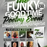 The Funky Good Time Poetry Event