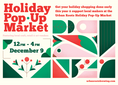 Urban Roots Holiday Pop-Up Market
