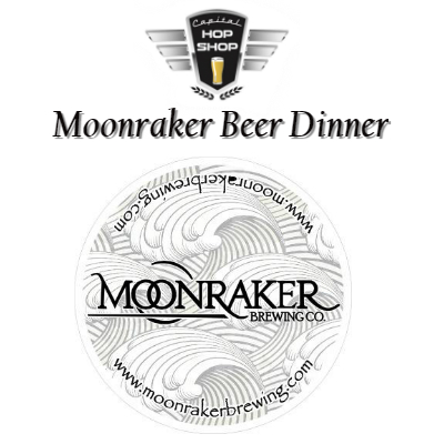 Capital Hop Shop Moonraker Dinner