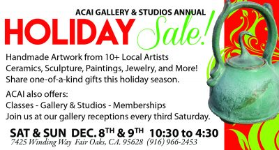 ACAI Gallery and Studios Holiday Sale
