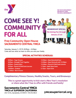 YMCA Community Open House