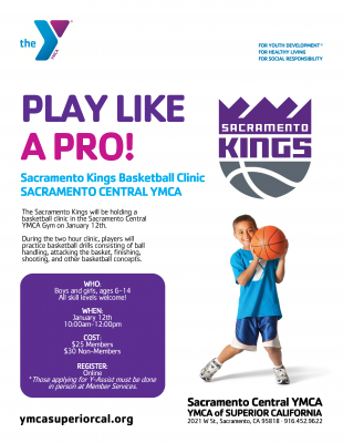 Sacramento Kings Basketball Clinic