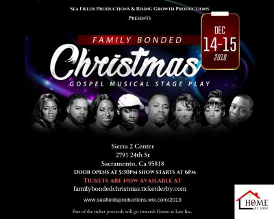 Family Bonded Christmas Gospel Musical Stage Play