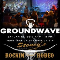 GROUNDWAVE at The Stoney Inn Rockin' Rodeo