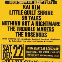 Benefit Rock Show for Jerry Perry