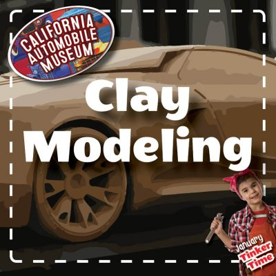 Tinker Time: Clay Modeling Class