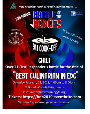 Battle of the Badges: 911 Cook-Off