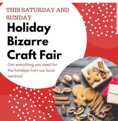 Holiday Bizarre Craft Fair at Classy Hippie Tea Co...