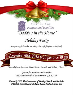Daddy's in the House Holiday Party