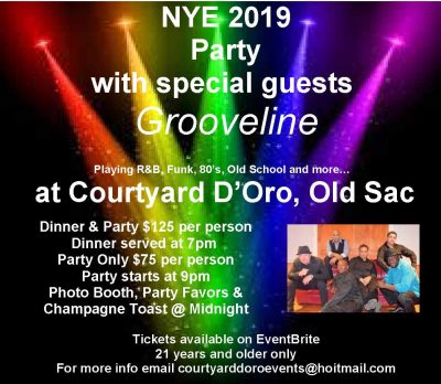 Courtyard D'Oro New Year's Eve Party